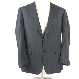 Oxford Clothes Grey Pinstripe jacket Mens 42 R